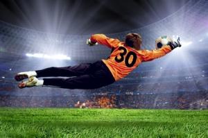 Soccer Goalman Andrii Iurlov